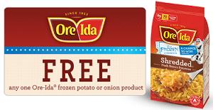 Free Ore-Ida Product  Samples