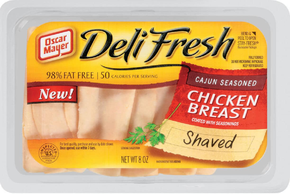 Save $1.00 off when you buy any 2 packages of Oscar Mayer Deli Fresh Lunch Meat