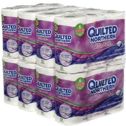 Save $1 off when you buy 1 Quilted Northern Ultra Plush Bath Tissue