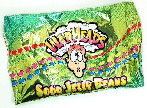 Save $1.00 off on any 1 Warheads Sour Jelly Beans