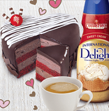 Free International Delight & Cold Stone Creamery Coffee & Cake Sweepstakes