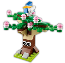 Free LEGO Spring Tree Mini Model Build at LEGO Stores on 3/4