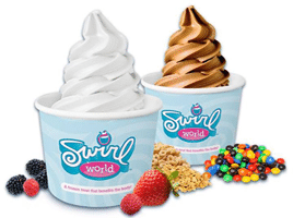 Free Swirl World Frozen Treat at RaceTrac Today