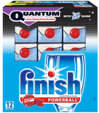 Free Finish Power & Free Dishwashing Sample