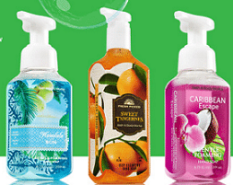 Free Hand Soap at Bath & Body Works