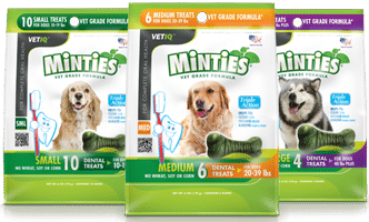 Free Minties Dental Treats For Dogs Sample