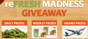 Free Pei Wei reFRESH Madness Giveaway