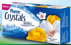 Purex Crystals Dryer Sheets Giveaway
