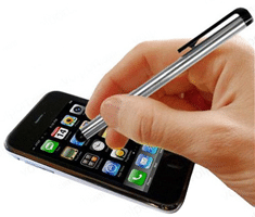 Free Touchscreen Metal Stylus Pen Sample