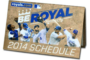 Free 2014 Royals Pocket Schedule
