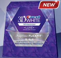 Free Crest 3D White Luxe Supreme Whitestrips Sample