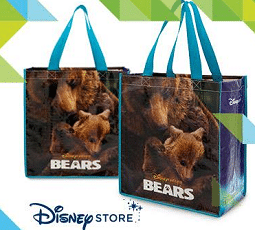 Free Disneynature Bears Reusable Tote Bag at Disney Stores Today