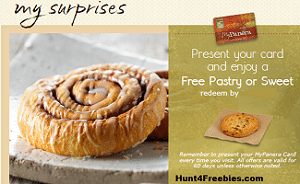 Free Pastry or Sweet at Panera For Your Birthday