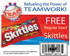 Free Skittles Candy at Murphy USA Stores