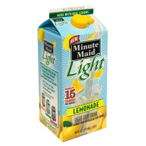 Save $1.00 when you buy four Minute Maid Fruit Drink or Lemonade