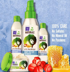 Free Dark & Lovely Au Naturale Anti-Breakage Root To Tip Mender Sample