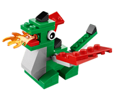 Free LEGO Dragon Mini Model Build at LEGO Stores Today