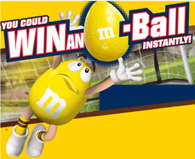 Free M&M'S Brand M-Ball Instant Win Game