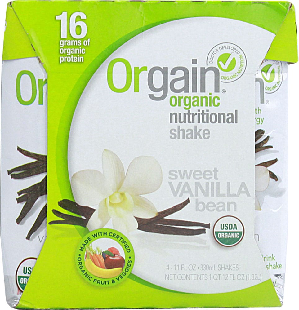 Save $2.00 off on any (1) Orgain Shake 4-Pack