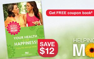 Free $12 CVS P&G Coupon Book