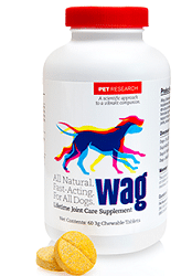 Free 15 Day Trial of Wag Lifetime Joint Care Supplement for Dogs
