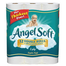 Save $1 off when you buy 1 pack of Angel Soft bath tissue