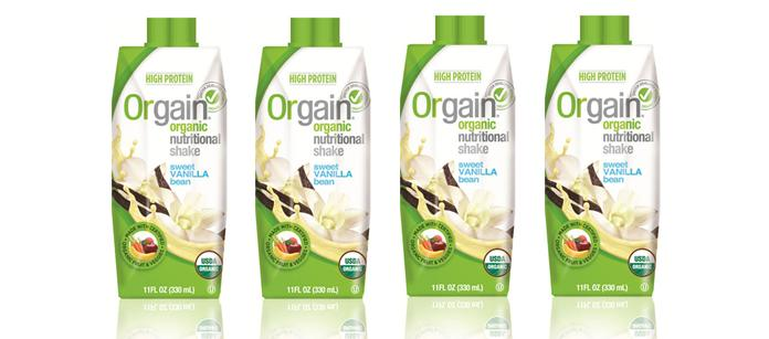 Save $1.00 off on any (1) Orgain Shake