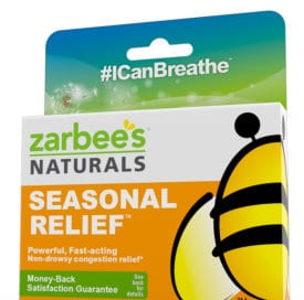 Zarbees Seasonal Relief Free Sample and Coupon