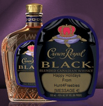 FREE Crown Royal Gift Labels For Boozy Freebie Lovers