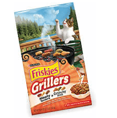 Free Bag of Friskies Grillers Cat Food