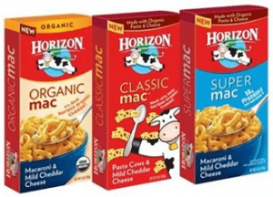 Free Horizon Mac & Cheese at Sprouts Stores