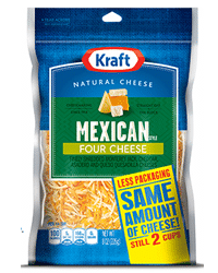 Free Bag of Kraft Natural Shredded Cheese at Safeway & Affiliates