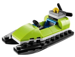 Free LEGO Jet Ski Mini Model Build at LEGO Stores Today