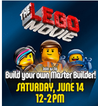 Free Lego Movie Building Event at Toys R Us on 6/14