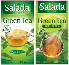 Free Salada Tea Sample of Your Choice