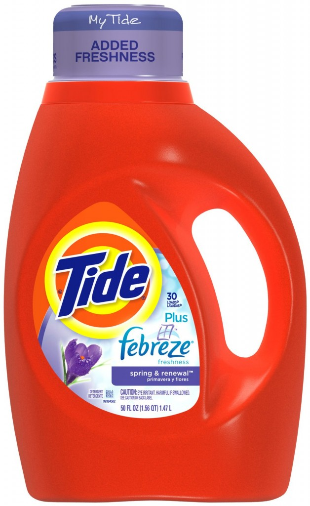 Save $1.00 off when you buy 1 Tide Detergent