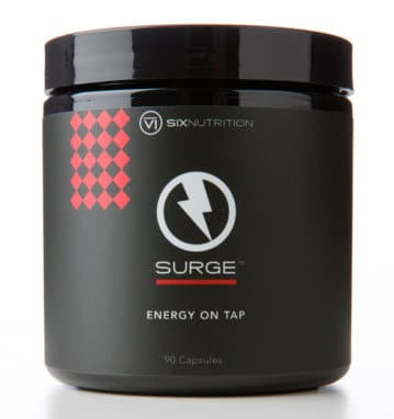 Full Size Surge Energy Capsules with Survey