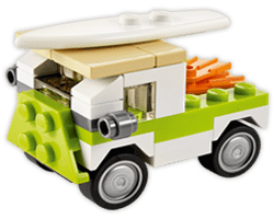 Free LEGO Beach Van Mini Model Build at Lego Stores Today