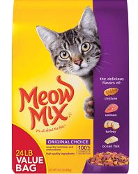 Free Meow Mix Cat Food Sample
