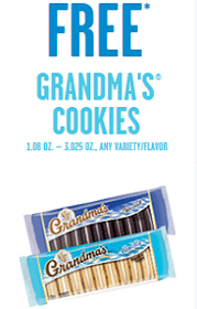 Free Grandma's Cookies at 7-Eleven Today