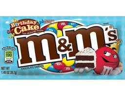 Free M&M's Brand Birthday Cake Chocolate Candies at 7-Eleven
