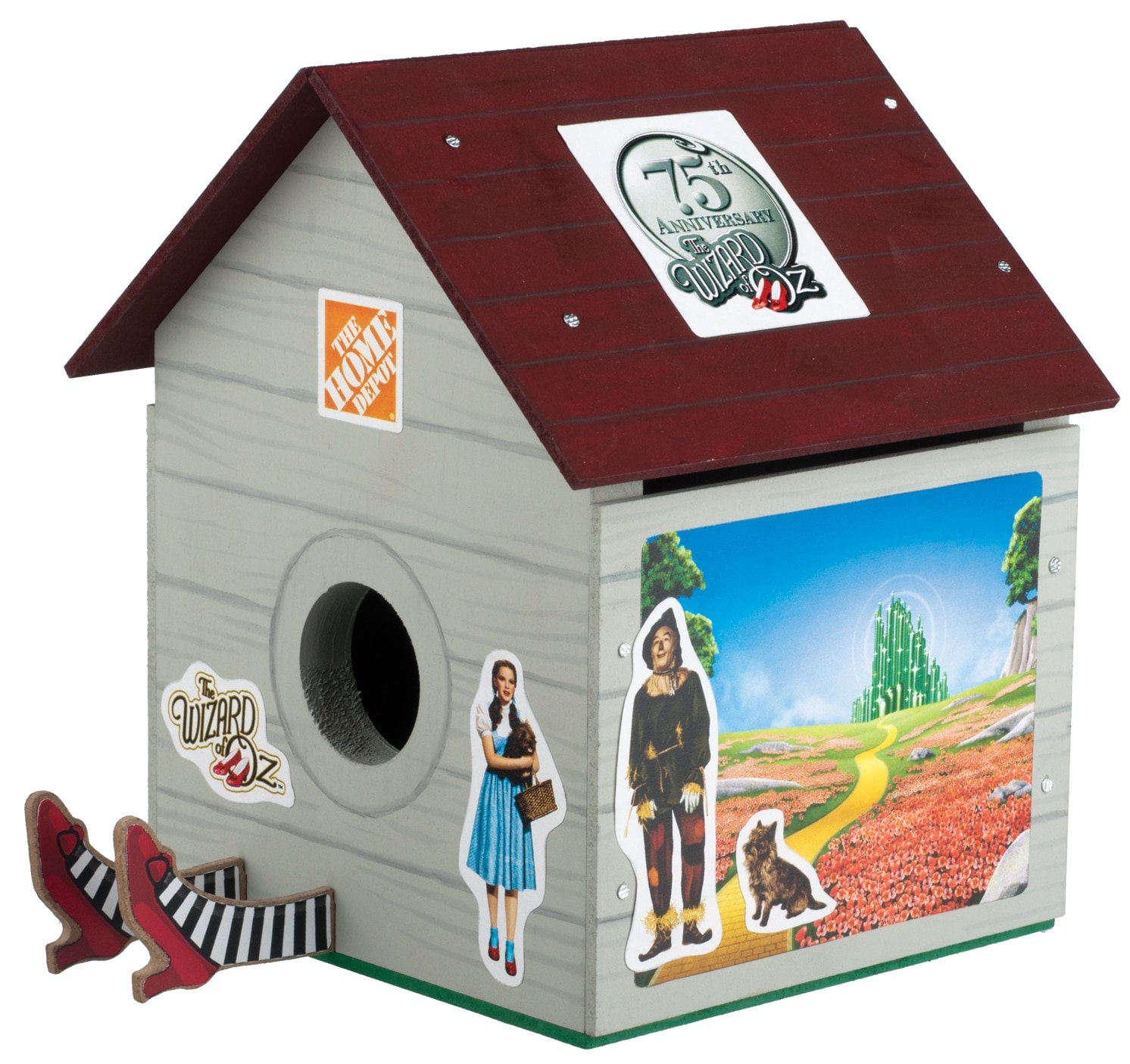 Free Build a Wizard of Oz TM Birdhouse