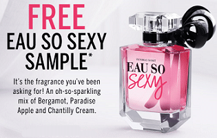 Free Eau So Sexy Fragrance Sample at Victoria's Secret on Today