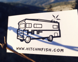 Free Hitch 'N' Fish Sticker