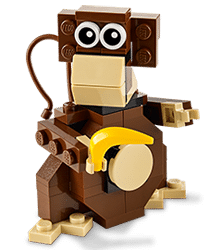 Free LEGO Monkey Mini Model Build at Lego Stores Today