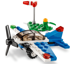 Free LEGO Racing Plane Mini Model Build at Lego Stores on 9/2