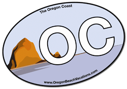 Free Oregon Coast Sticker