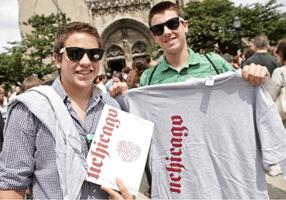 Free UChicago T-Shirts for High School Seniors