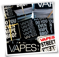 Free Vape Street Wear Sticker