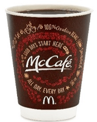 Free McCafé Coffee at McDonald's on 9/16-9/29
